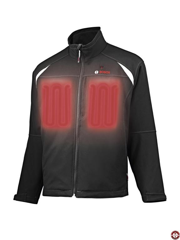 nouvelle veste chauffante bosch id ale pour les artisans. Black Bedroom Furniture Sets. Home Design Ideas