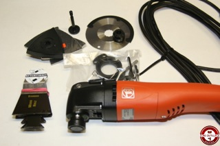 Test du MultiMaster FMM250Q et SuperCut FSC2 0Q FEIN - Zone