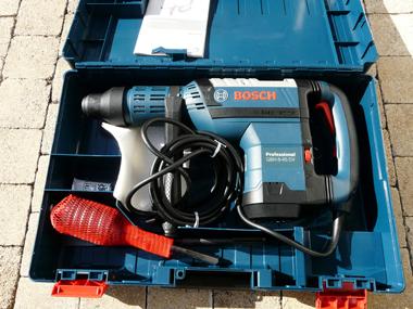 Test du marteau perforateur Bosch GBH 8-45 DV Professional