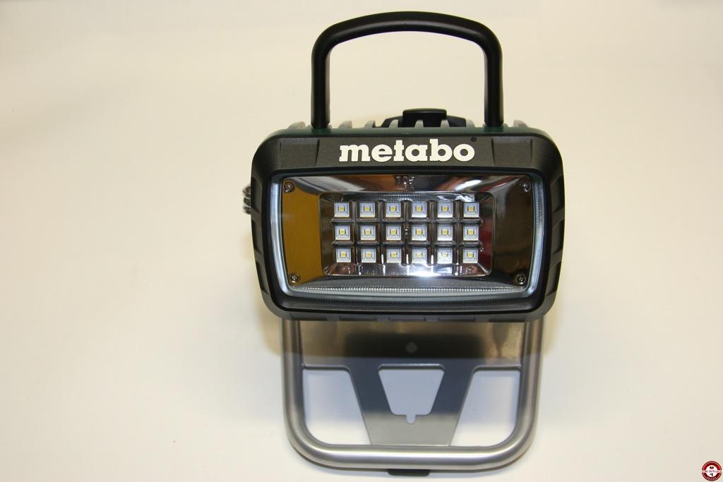 Test Du Projecteur De Chantier Metabo Bsa 14 4 18 Led Zone Outillage