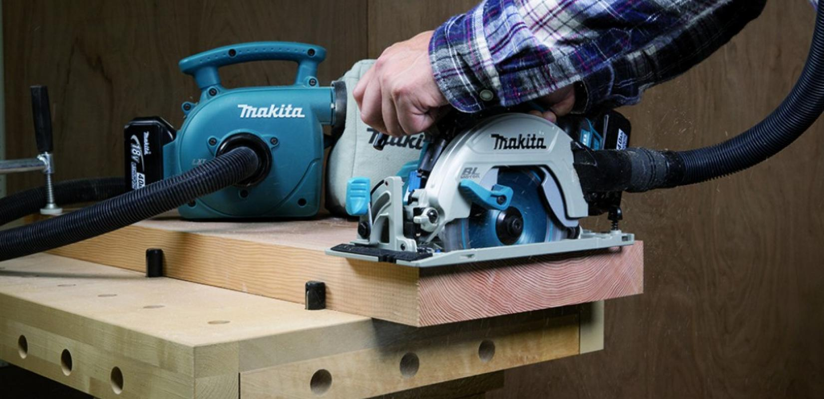 makita ajoute une nouvelle scie circulaire dhs680z sa plateforme 18 v zone outillage. Black Bedroom Furniture Sets. Home Design Ideas