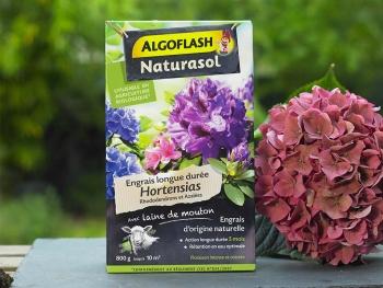 Engrais Hortensias Algoflash Naturasol