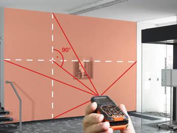 Télémètre laser LMG 50 © AEG Powertools