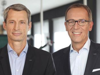 Horst W. Garbrecht et Eric Oellerer de Metabo