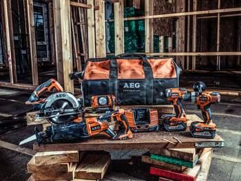 AEG Powertools s'affirme en tant que marque professionnelle