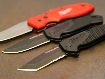 Couteaux pliants Milwaukee Hardline et Fastback