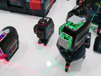 Test et avis des lasers GCL 2-50 C et GCL 2-50 CG Bosch Professional