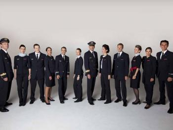 Air France uniforme CEPOVETT
