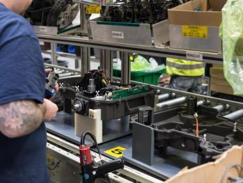 Production robotique Husqvarna
