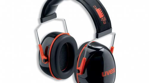 Casque anti-bruit UVEX K3