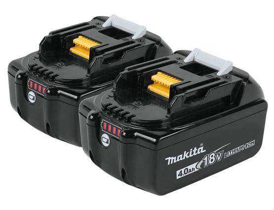 Batteries 18 V Makita
