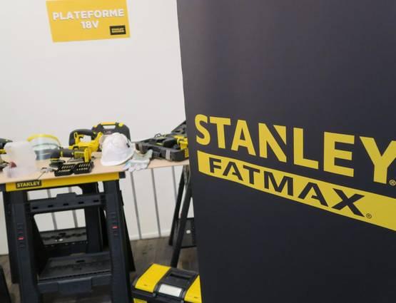 Stanley FatMax gamme 18 V © Zone Outillage Benjamin Leharivel