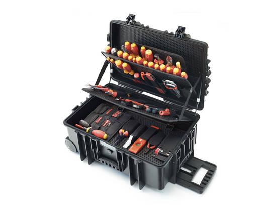 Trolley de maintenance pour électriciens © Wiha