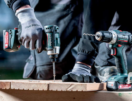 Gamme 12 volts Metabo