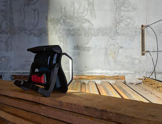 Éclairez votre chantier avec les nouvelles lampes sans fil GLI 18V Professional Bosch
