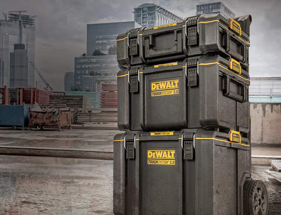 TOUGHSYSTEM 2.0 DEWALT : La nouvelle solution de transport robuste et étanche