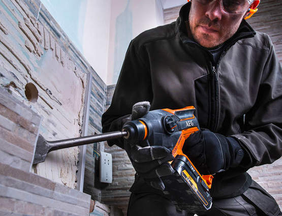 Test et avis du marteau perforateur compact BBH18C AEG Powertools