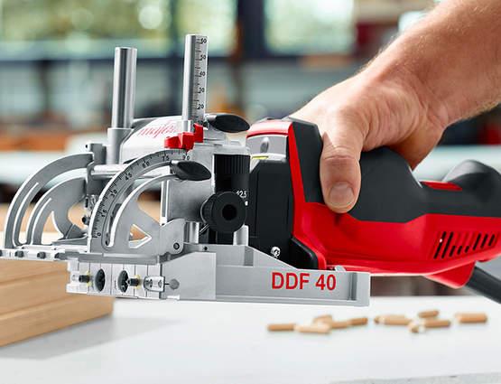 Test et avis de la tourillonneuse double DDF 40 MidiMAX MAFELL