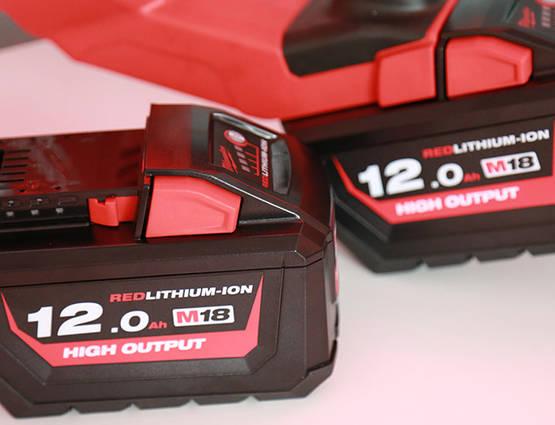 Nouvelle batterie MIlwaukee M18 HB12 12 Ah 18 V