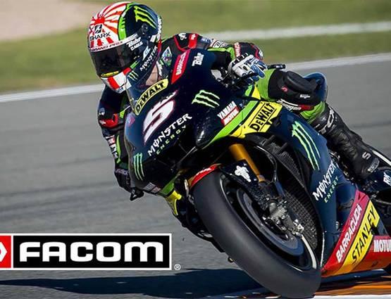 FACOM : sponsor officiel du Moto GP 2018