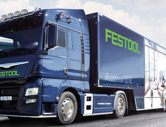 date et lieux du Festool tour 2018 promotion Festool