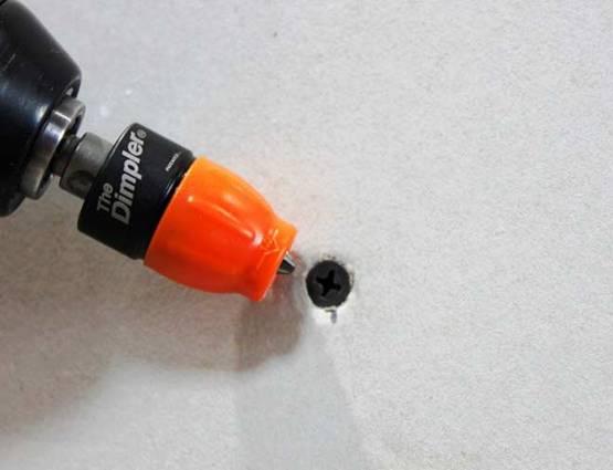 Test et avis porte embout pour plaque de platre et cloisons sèches The dimpler EDMA