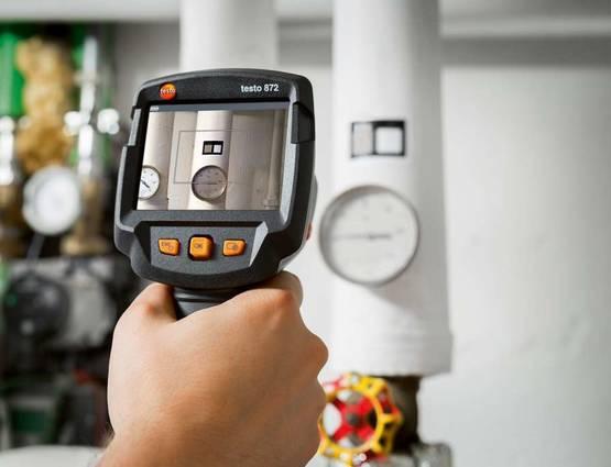 Caméra thermique Testo