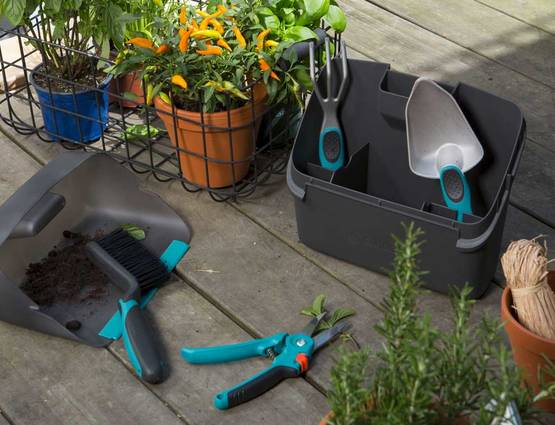 Outils jardin urbain GARDENA