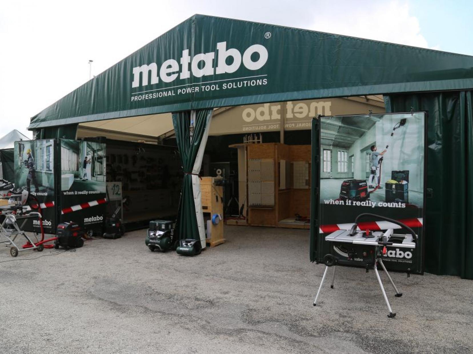 Metabo Tour à Paris le 23 juin 2015