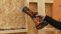 AEG BUS18CBL : la nouvelle scie sabre compacte brushless 18 V