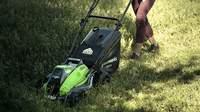 test et avis de la tondeuse à gazon greenworks GD40LM45 2500407UC