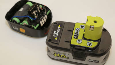 batterie Bosch 18V Power4all vs batterie Ryobi ONE+ 18 V