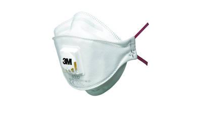 3M 9332 Masque respiratoire filtrant pliable avec soupape contre particules nocives