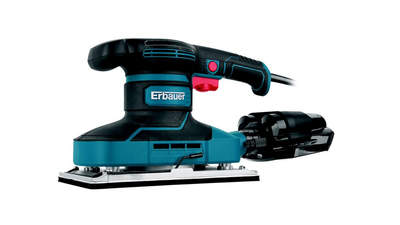 Ponceuse vibrante filaire Erbauer EHSS350 350 W 3663602796817 115 x 230 mm