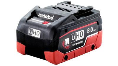 avis et prix batterie 18 V 8.0 Ah LiHD 625369000 Metabo promotion pas cher