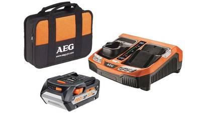 avis et prix pack batterie SETL1850BLK  18V 5.0 Ah et chargeur BLK1218 AEG powertools promotion pas cher