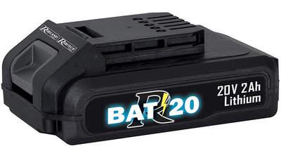 Batterie 20 V 2,0 Ah R-BAT20 Ribimex PRBAT20/2