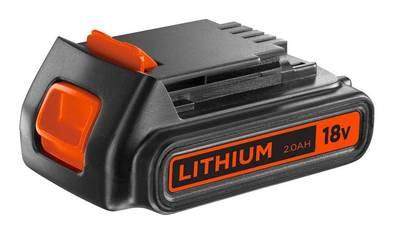 Batterie BLACK + DECKER 18 V 2.0 Ah BL2018-XJ pas cher