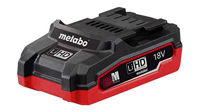 Batterie Metabo 18 V 3.1 Ah 625343000