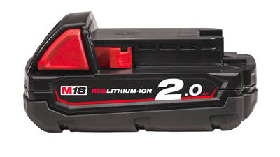 Batterie Milwaukee 18 V 2.0 Ah M18 B2