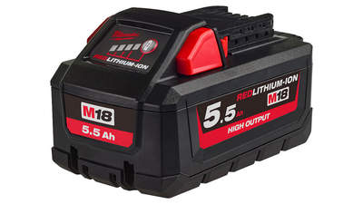 Batterie Milwaukee M18 HB55 HIGH OUTPUT REDLITHIUM-ION 18 V 5,5 Ah