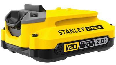 Avis et prix batterie Stanley Fatmax 18 V 2.0 Ah SFMCB202 FATMAX V20