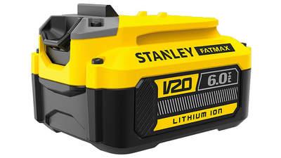 Avis et prix batterie Stanley Fatmax 18 V 6.0 Ah SFMCB206 FATMAX V20