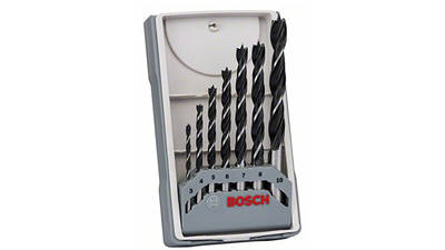 Bosch 2607017034 Assortiment de mèches hélicoïdales à bois Ø 3/4/5/6/7/8/10 mm prix pas cher