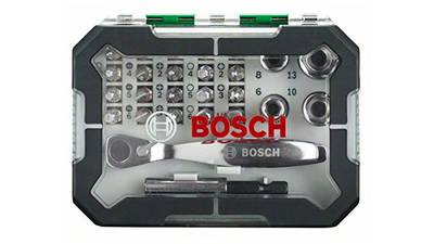 Bosch 2607017322 Coffret d'embouts de vissage et cliquet