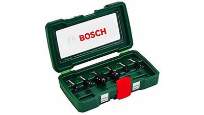 Bosch 2607019463 Coffret de 6 fraises Queue 8mm prix pas cher