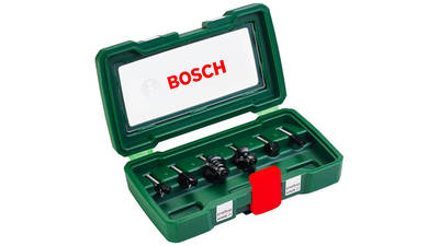 Coffret de fraises queue 6 mm Bosch 2607019464
