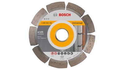 Bosch 2608602192 Disque à tronçonner diamanté standard for universal 125 x 22,23 x 1,6 x 10 mm