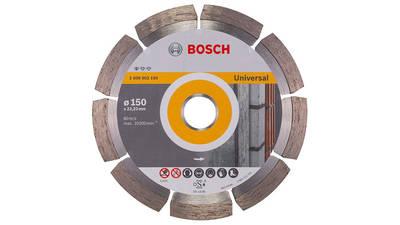 Bosch 2608602193 Disque à tronçonner diamanté standard for universal 150 x 22,23 x 2 x 10 mm