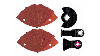 Set 5 accessoires universel Starlock pour PMF Bosch 2609256977